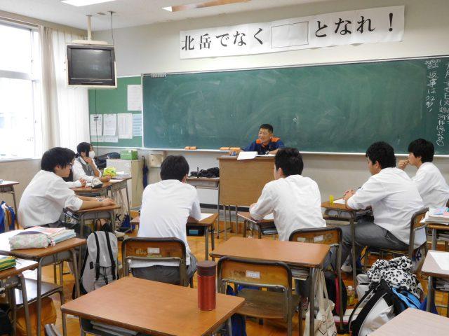 消防士の方にインタビュー 東日本大震災の時の救助の話を聞きました。